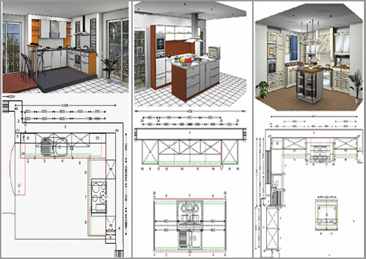 Measure, Design U0026 Drawing Up Plans For Kitchen Designs According To Client .