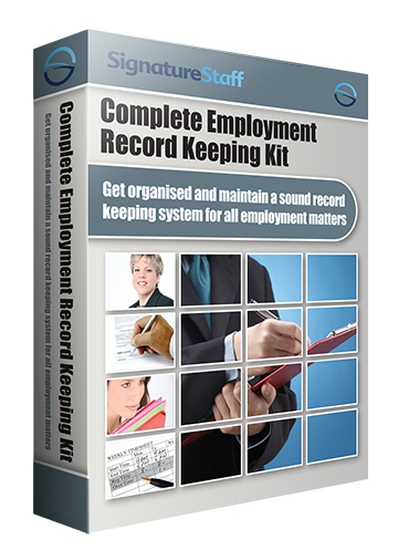 Complete Employee Record Keeping Kit