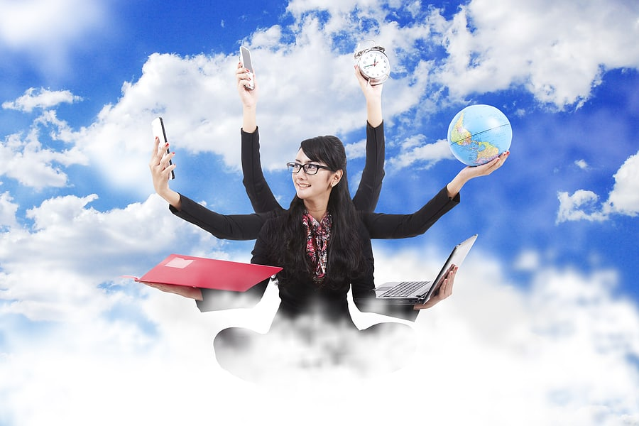 bigstock_Multitasking_Business_Woman_28745030