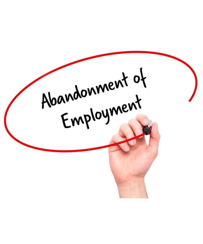 job abandonment letter abandonment of employment confirmation letter 22628 | abandonment