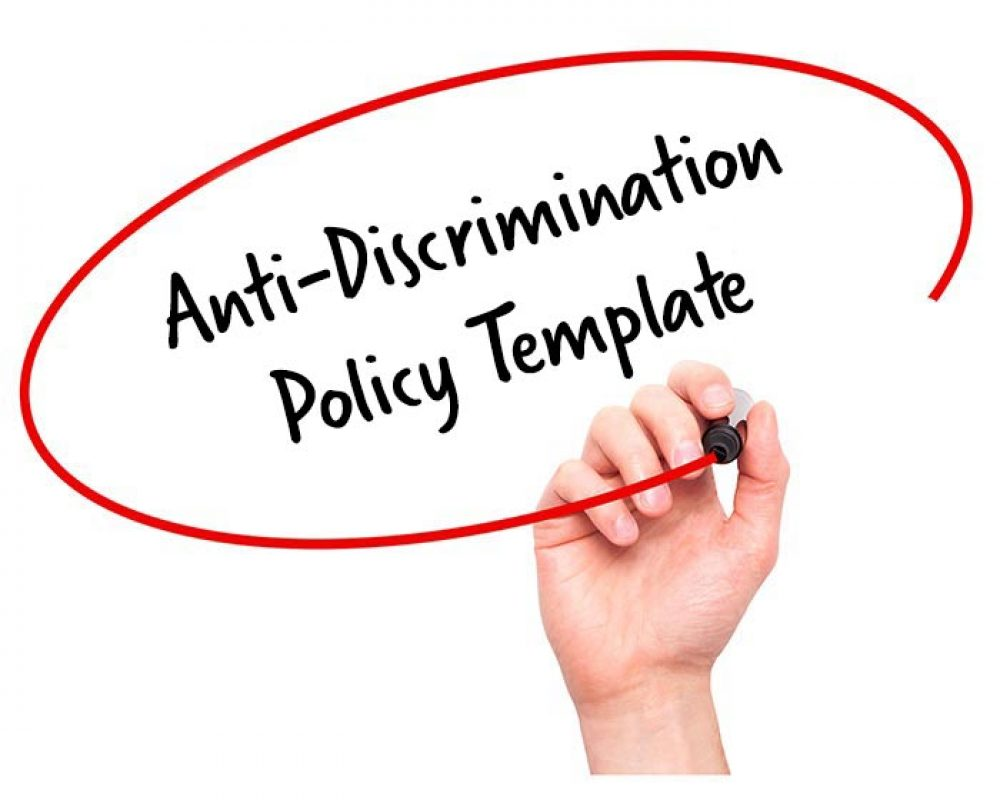 Anti Discrimination Policy Template Beautiful Anti Discrimination Policy Template Elaboration Resume Ideas