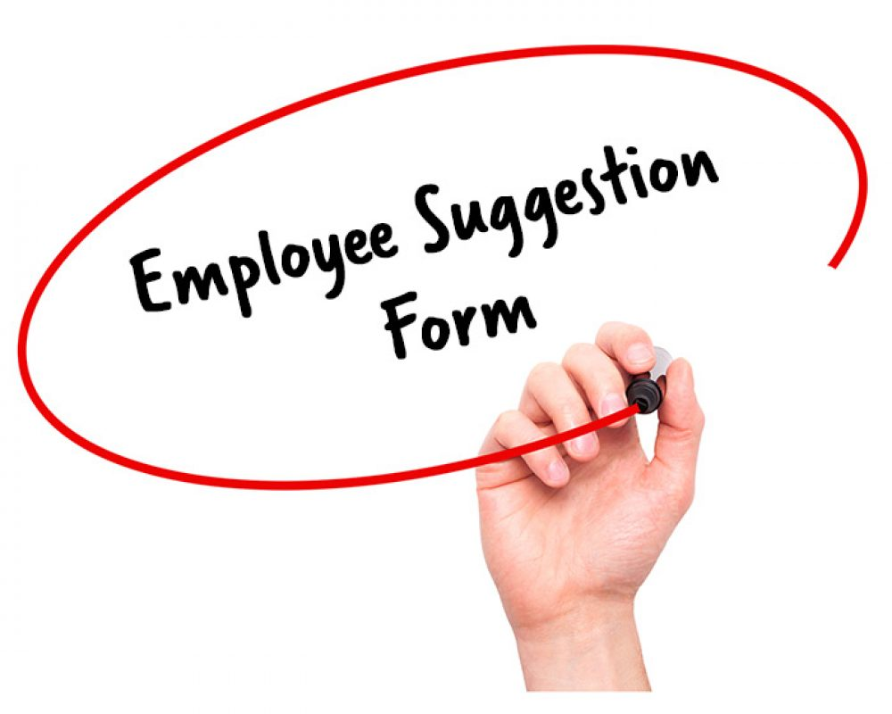 Employee Suggestion Form - Signature Staff