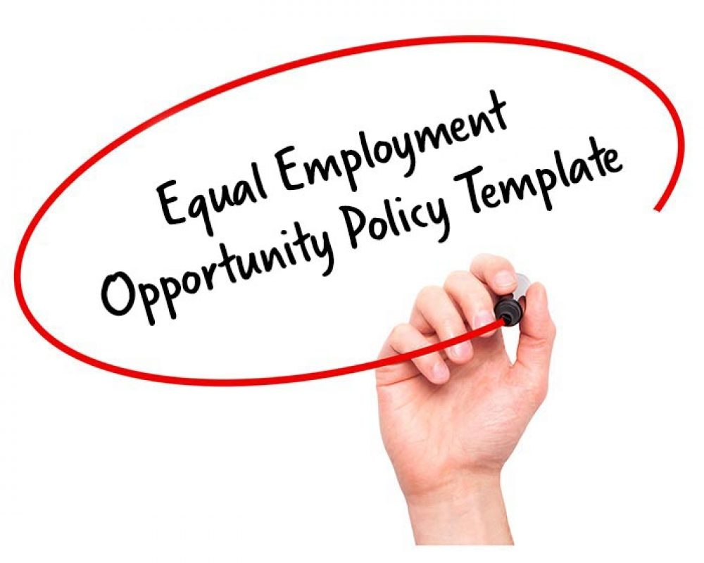 equal employment opportunity policy template