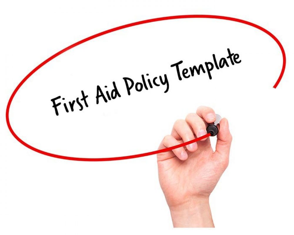 first aid policy template