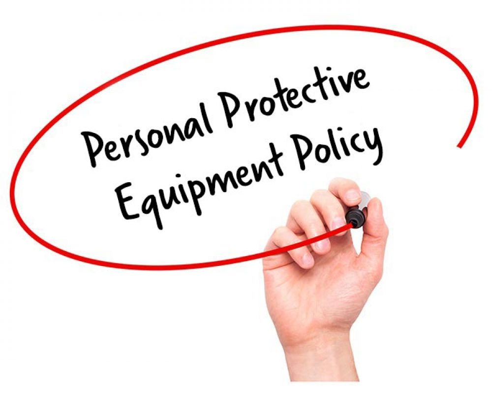 ppe policy personal protective equipment policy