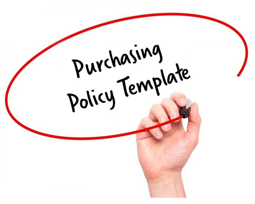 purchasing policy template