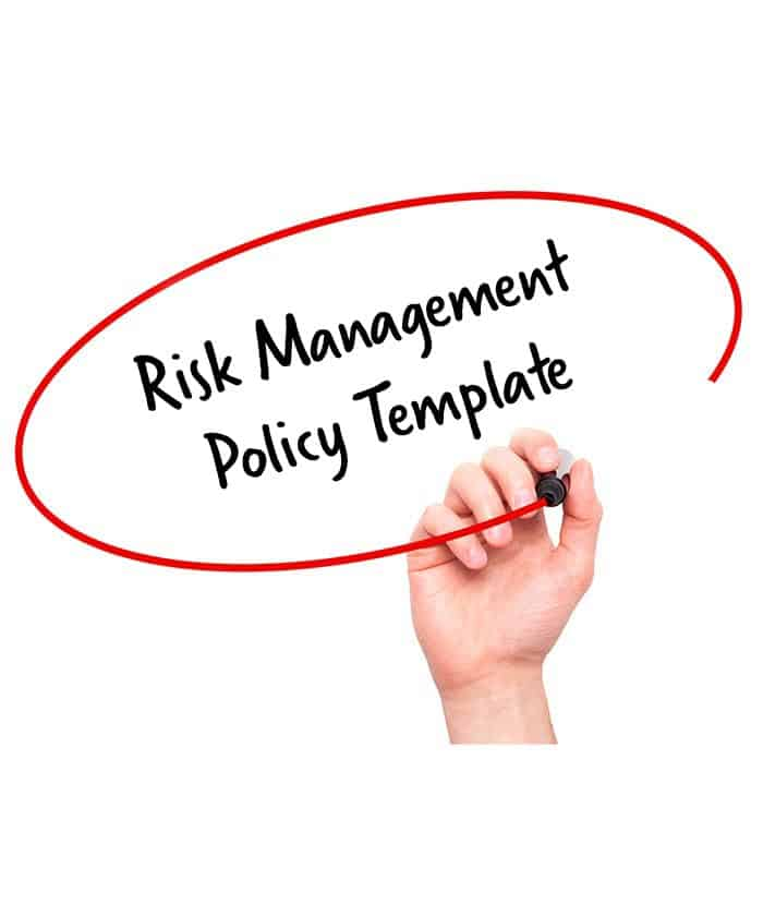 risk management policy template