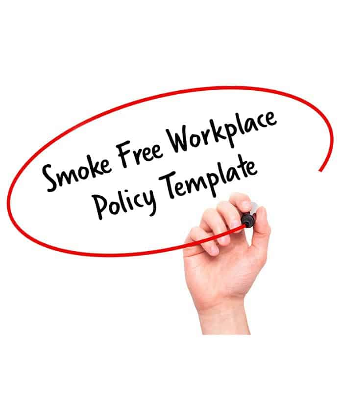 Smoke Free Workplace Policy Template