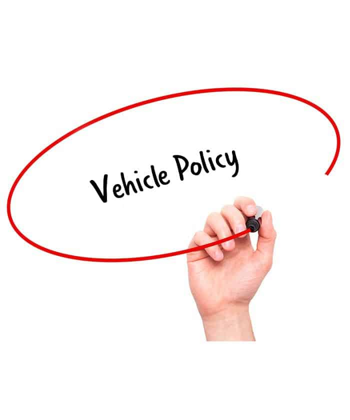 Vehicle Policy - Signature Staff