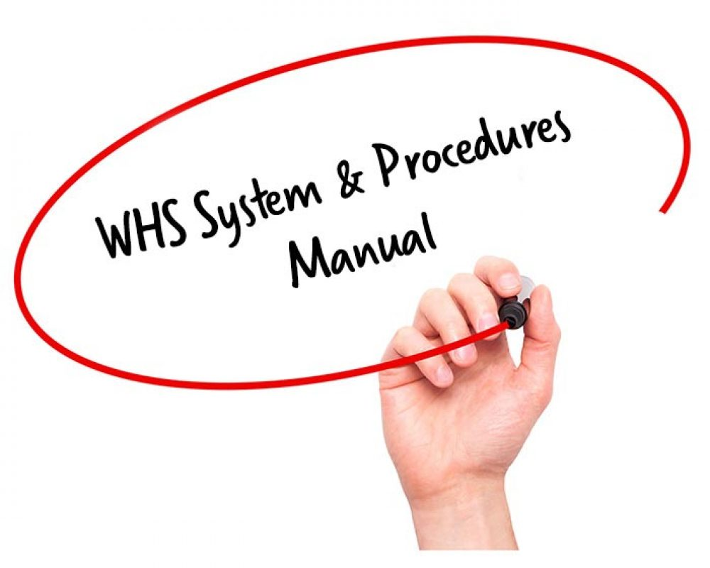 whs system procedures manual