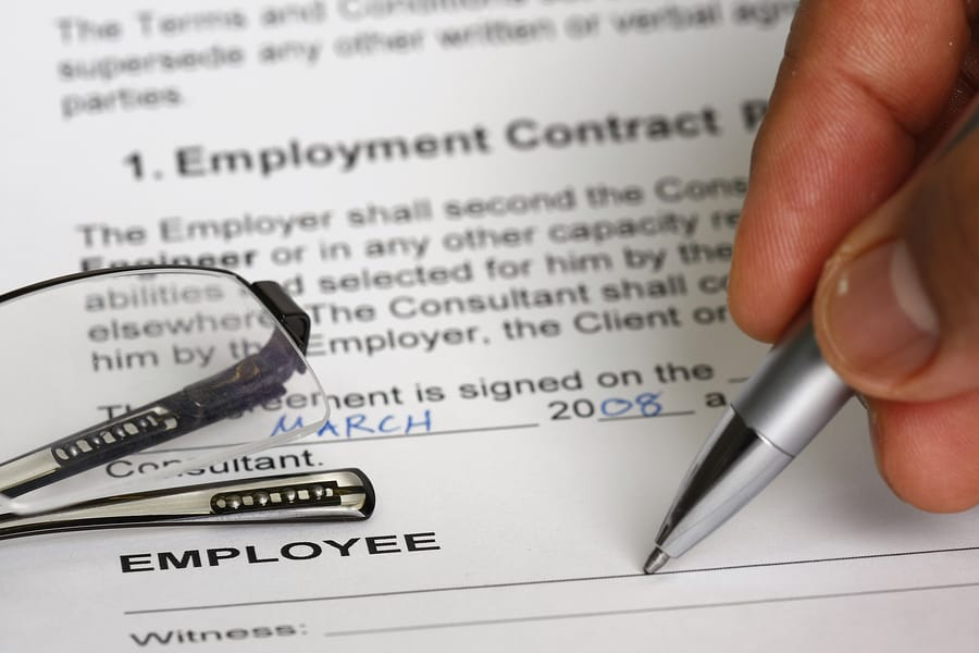 Employment Contract  The Must Haves  Signature Staff Australia