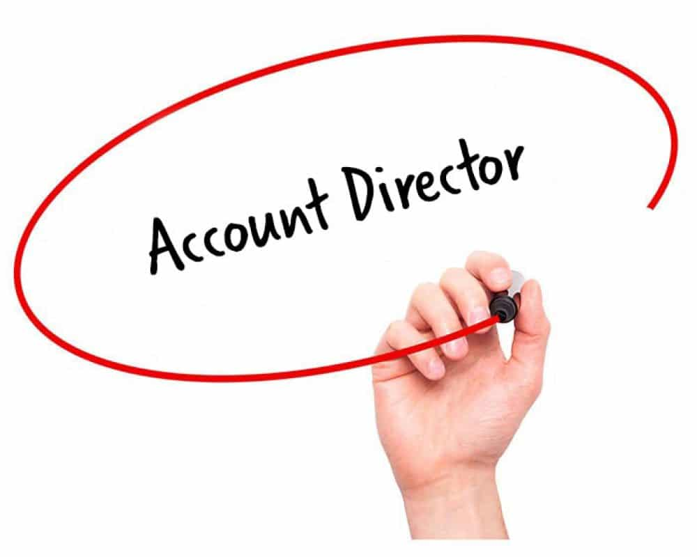 Account Director Job Description Hr Services Online