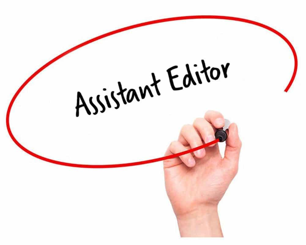 Assistant Editor Job Description - HR Services Online