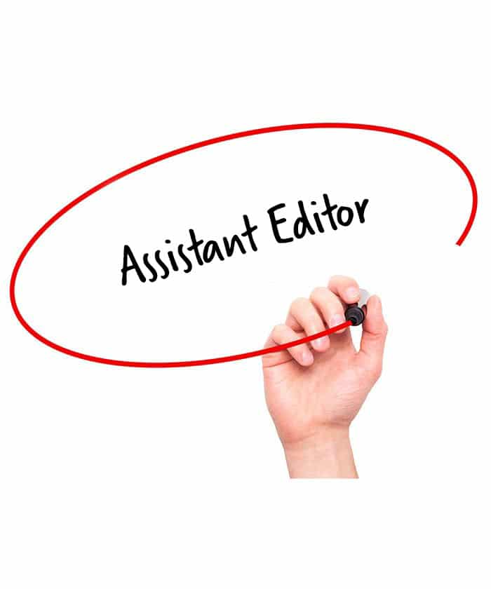 Assistant Editor Job Description  Hr Services Online