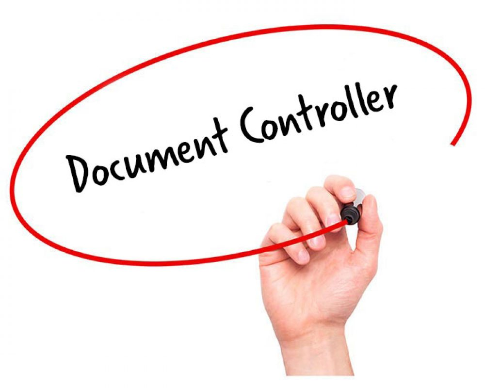 Superb Document Controller Job Description With Document Controller