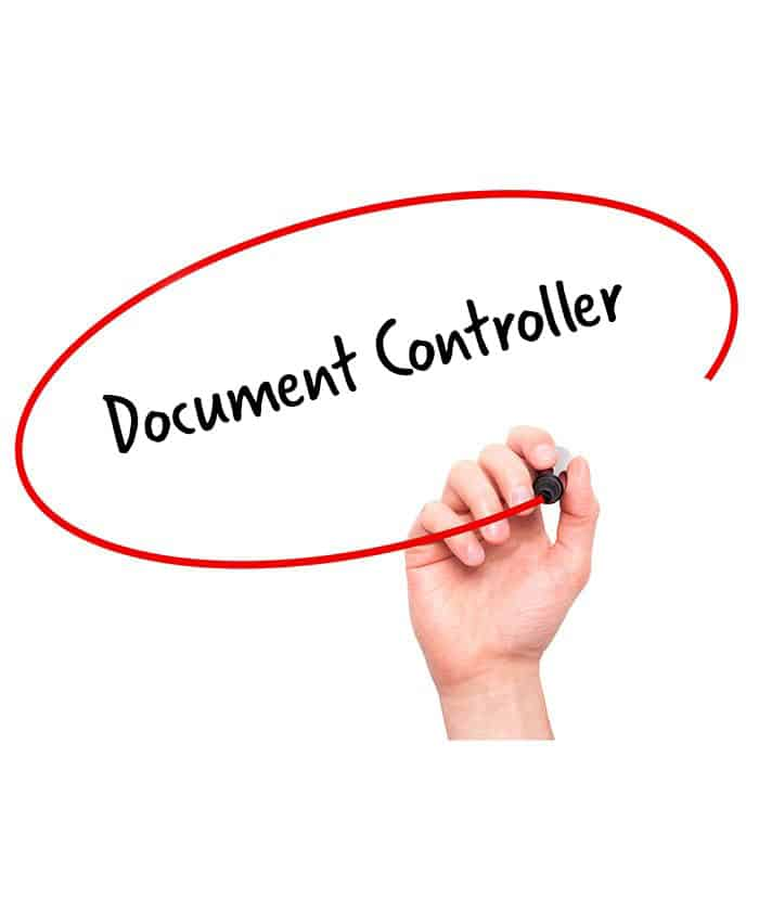 Document Controller  Signature Staff