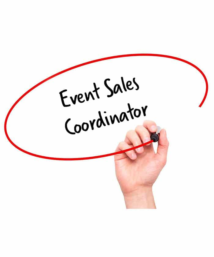 Events Sales Coordinator Job Description  Hr Services Online
