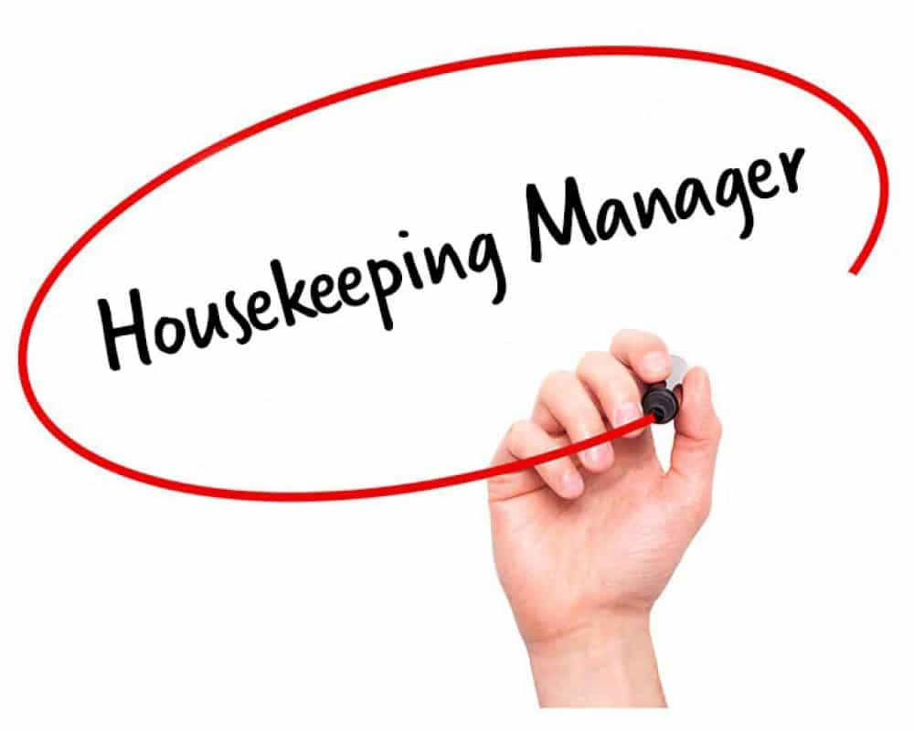 job description for housekeeping