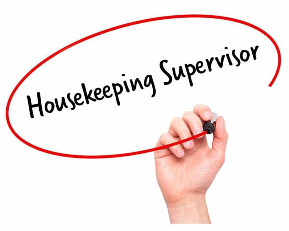 Image result for hiring Housekeeping Supervisor