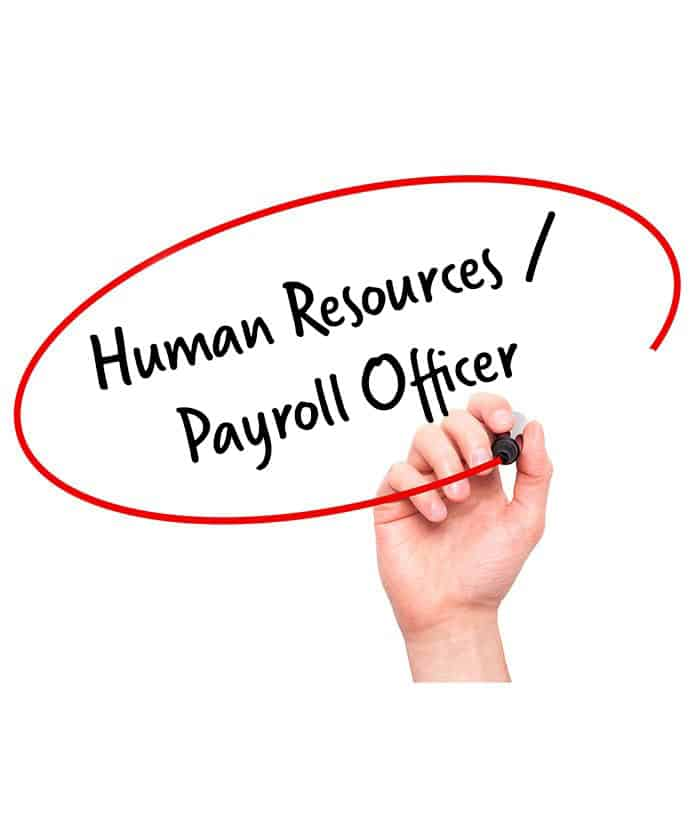 Human Resources / Payroll Officer Job Descriptions - Hr Services