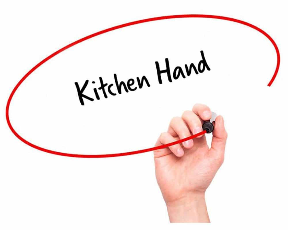 kitchen hand description