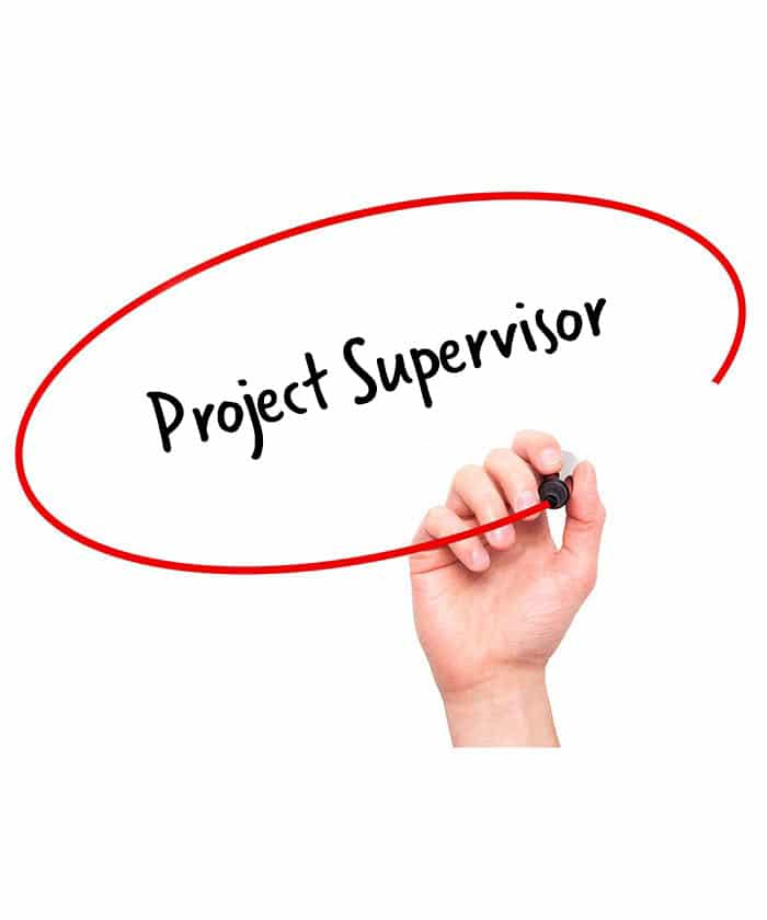 Project Supervisor Job Description  Hr Services Online