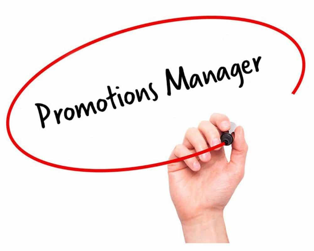 Promotions Manager Job Description Hr Services Online