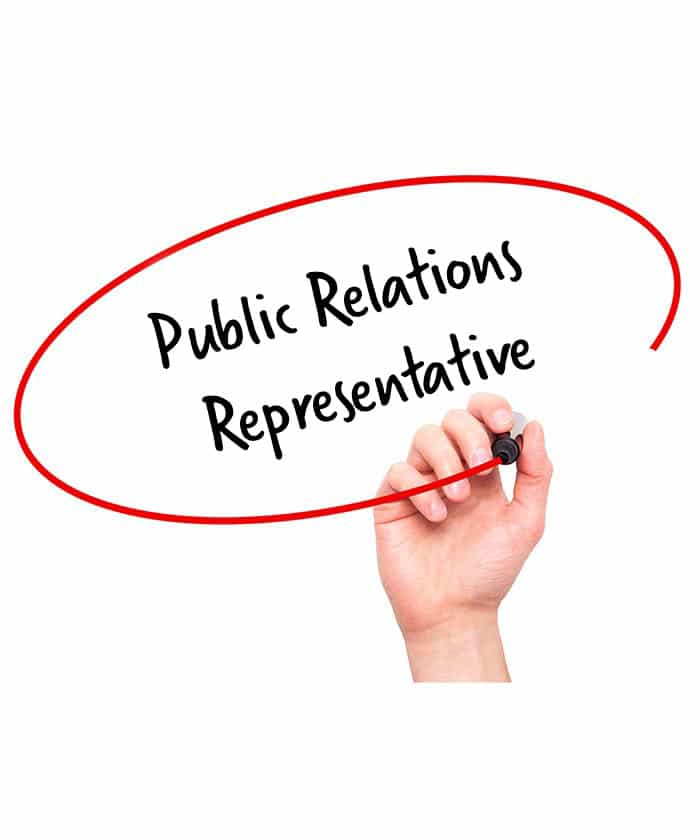 Public Relations Representative Job Description  Hr Services Online