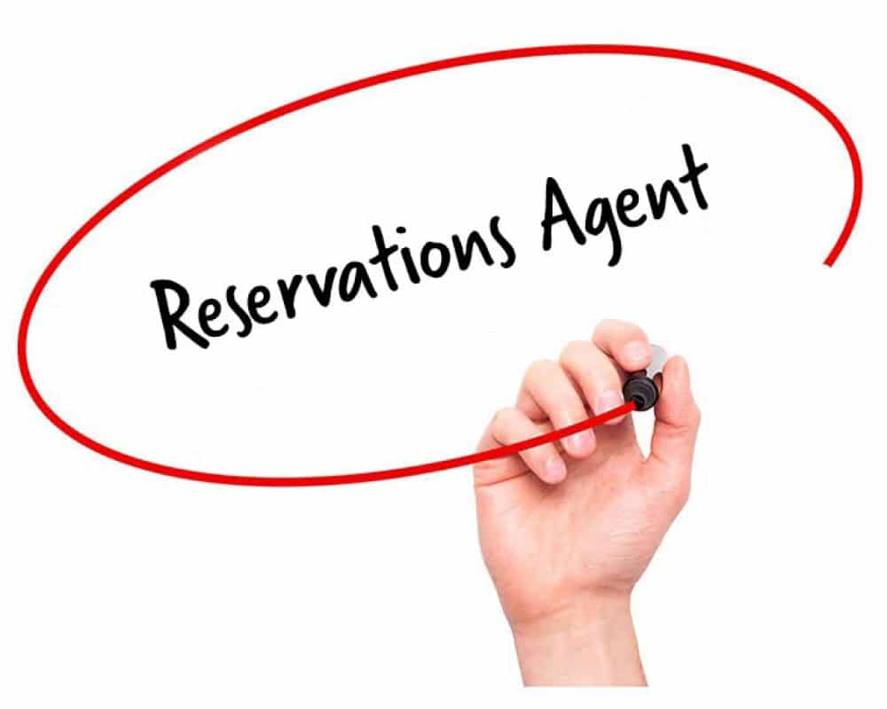 Reservations Agent Job Description
