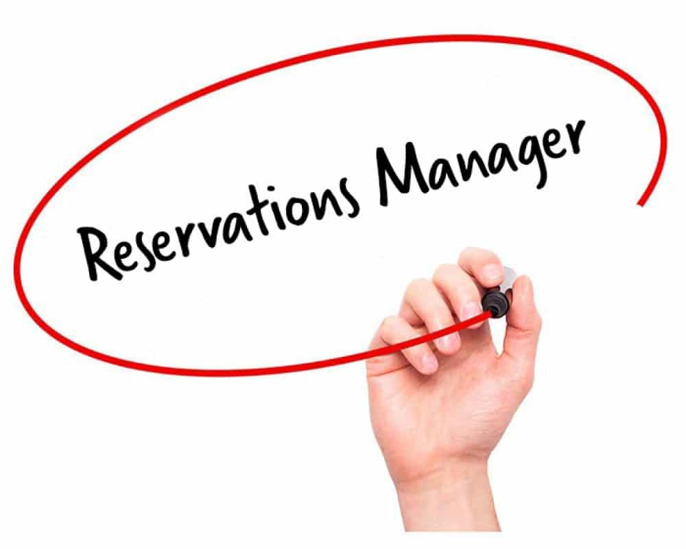 Reservations Manager Job Description