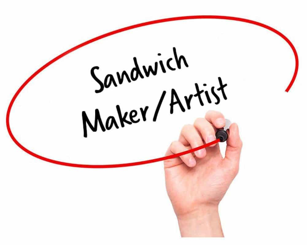 Sandwich Maker/Artist Job Description