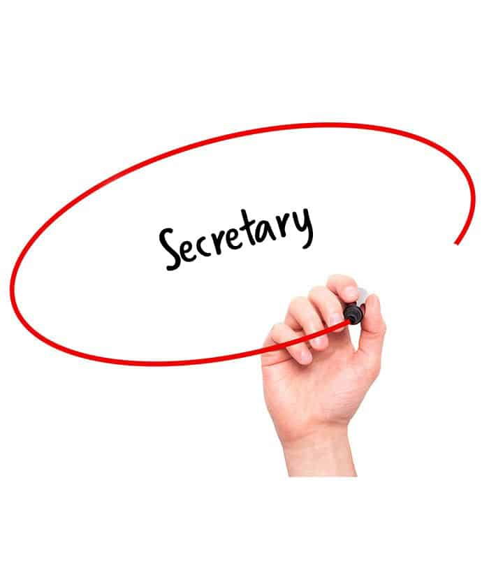Secretary - Signature Staff