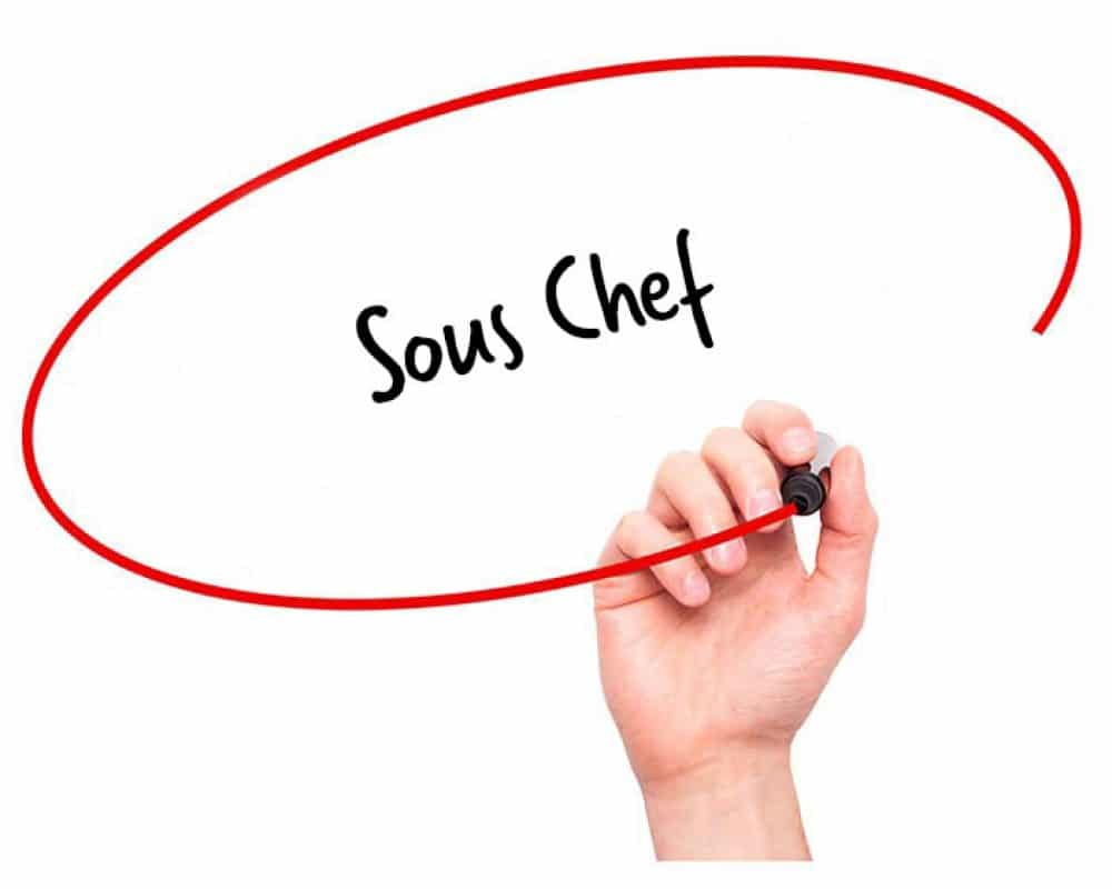 Sous Chef Job Description