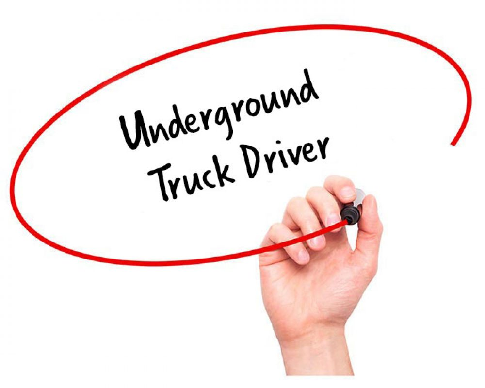 Delightful Underground Truck Driver Job Description
