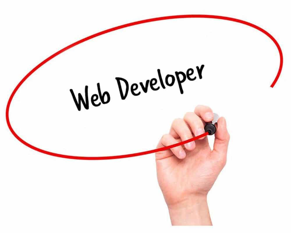 web developer job description